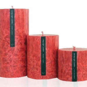 Living Light Round Pillar Candles