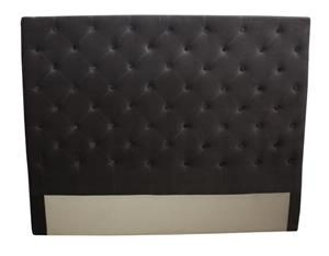 Buttons-Dark-Grey-Velvet-160cmWx9cmDx126cmH-BF0077