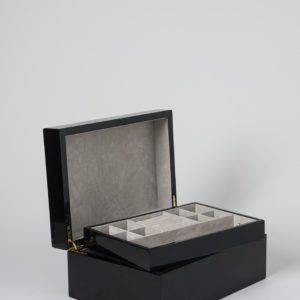 Large Jewellery Box in Black by Citta