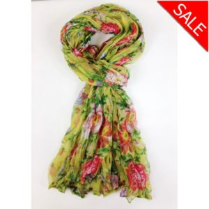 wrap spring bloom lime