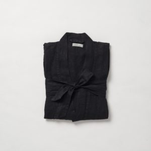 Bella Dressing Gown Charcoal