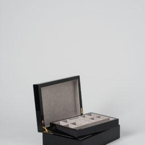 Small Jewellery Box In Black by Citta