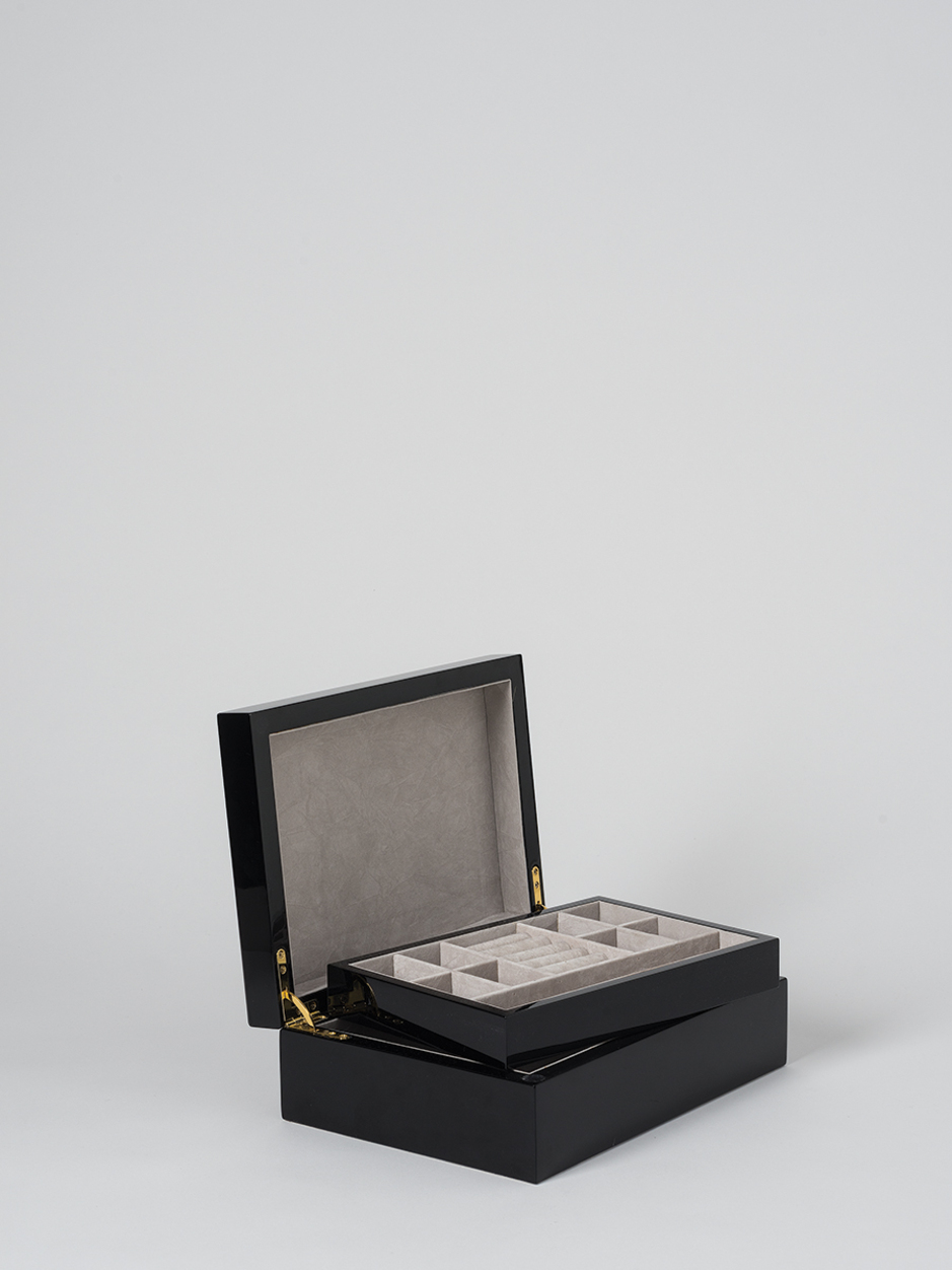 Small Jewellery Box In Black by Citta
