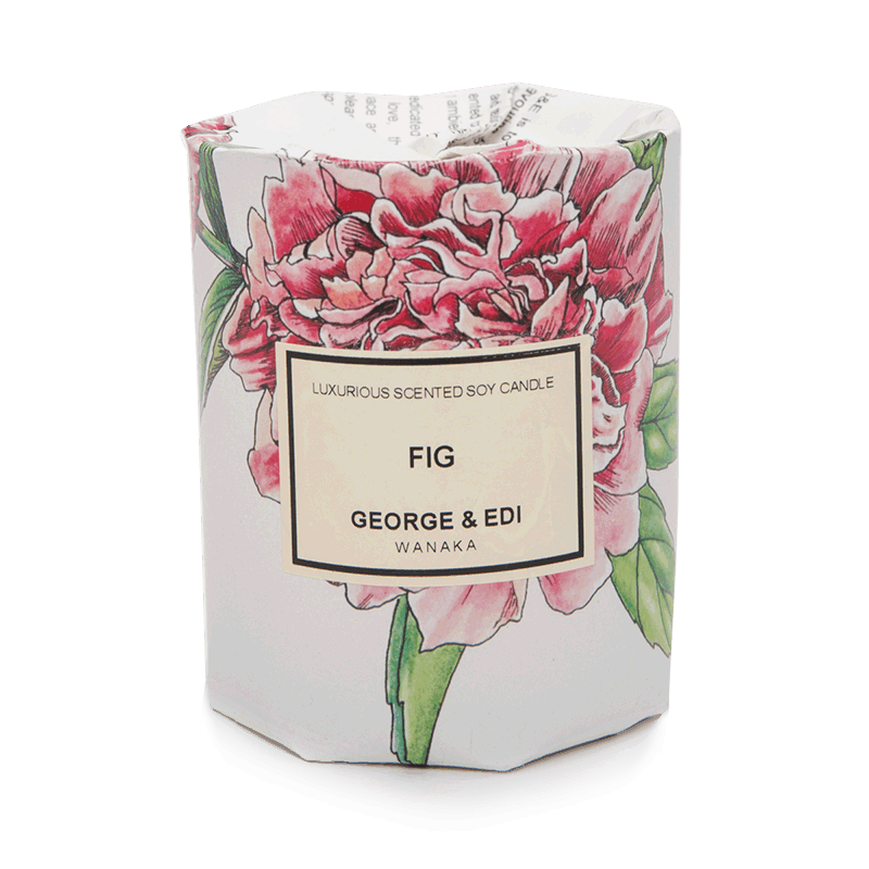 George & Edi Medium Candle - Fig