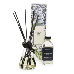 George & Edi Room Diffuser Set - Grapefruit & Mint