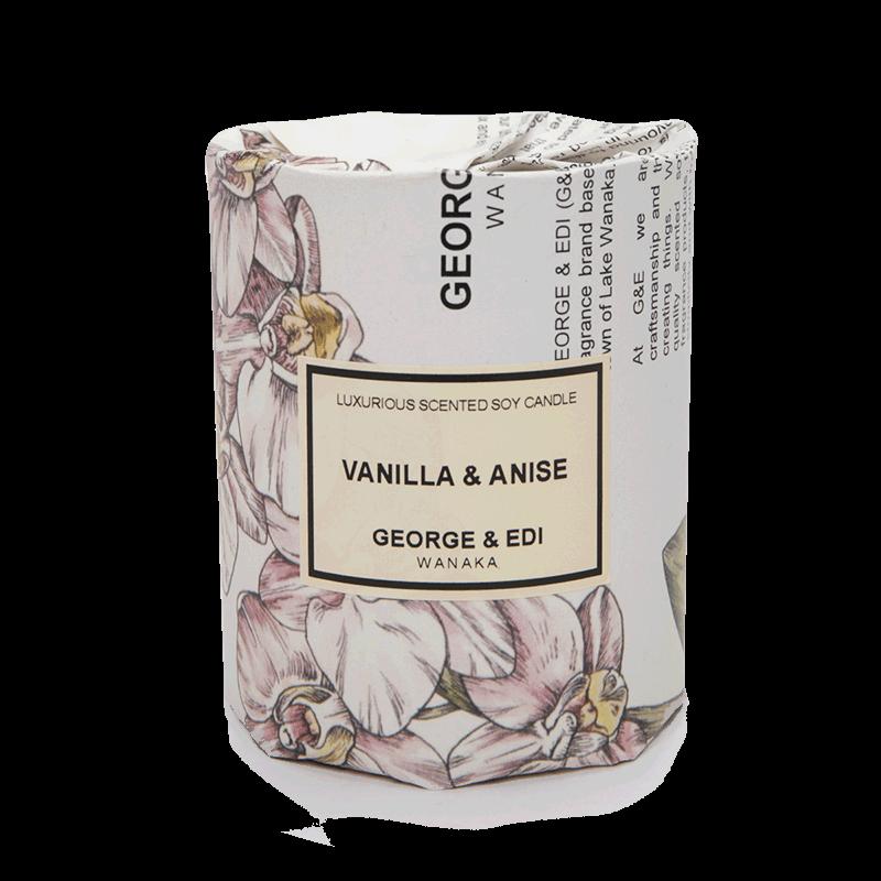George & Edi Large Candle - Vanilla & Anise