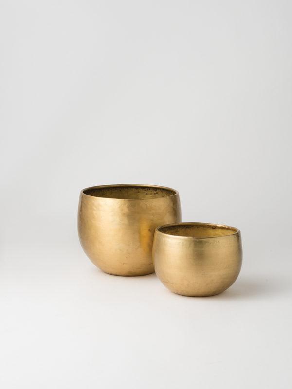 Citta Gava Planter Set 2 Brass