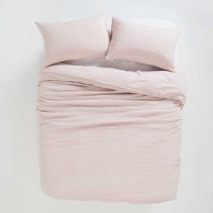 Citta Sove Linen Pillowcase Pair in Mushroom