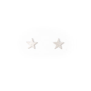 Stella & Gemma Silver Star Earrings