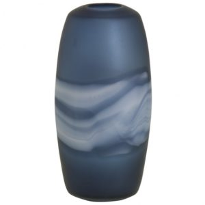 Blue Wash Tall Vase
