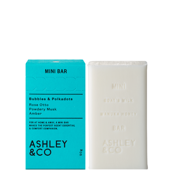 Ashley & Co - Mini Bar - Bubbles & Polkadots