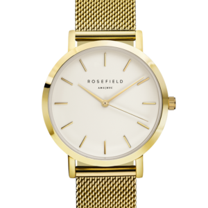 Rosefield - The Mercer - White/Gold