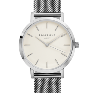 Rosefield - The Mercer - White/Silver