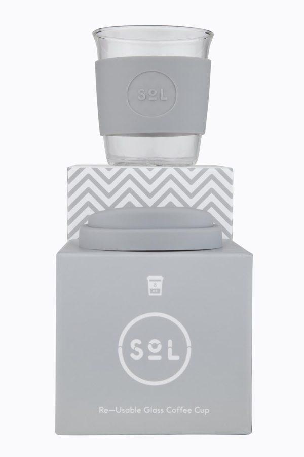 Sol Cup - 8oz - Cool Grey