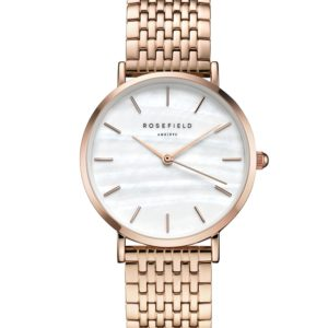 Rosefield - The Upper East Side - Rose Gold/White