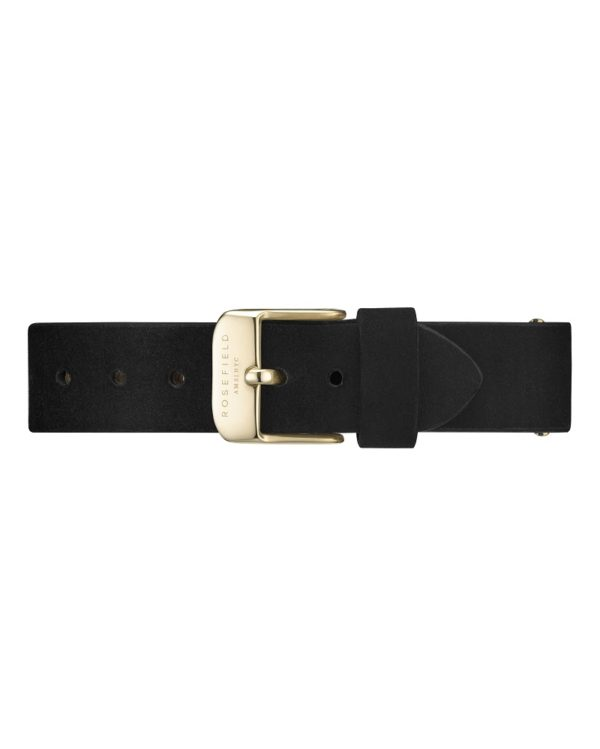 Rosefield - The West Village - Black/Gold