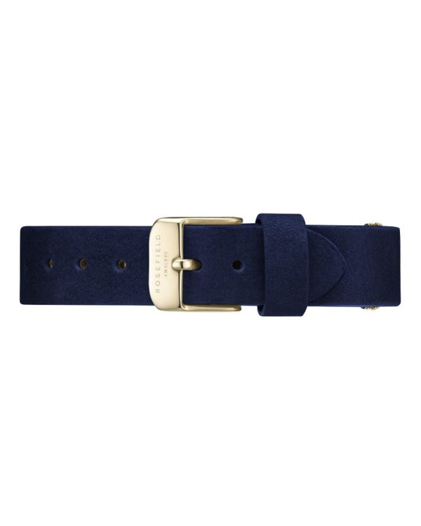 Rosefield - The West Village - Velvet Blue/Gold