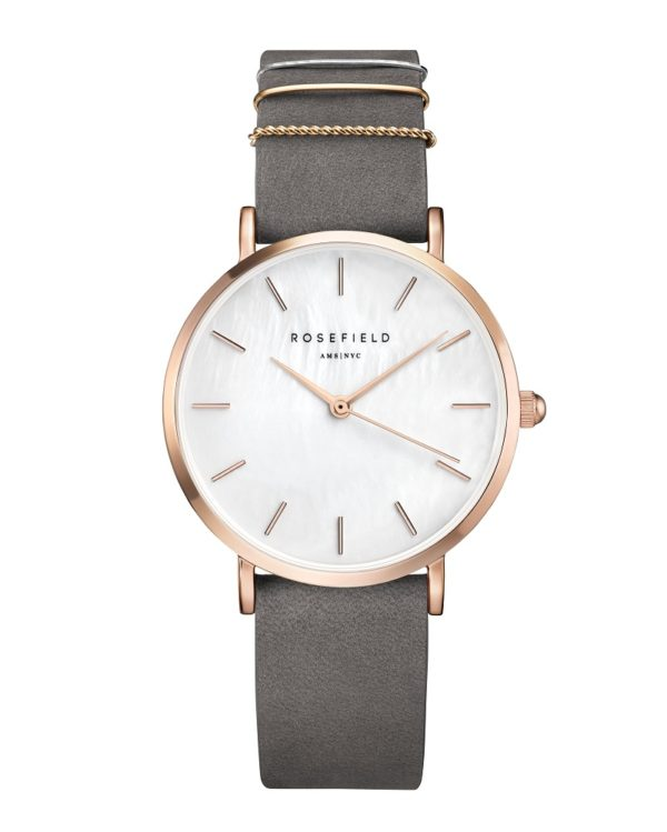 Rosefield - The West Village - Elephant Grey/Rose Gold
