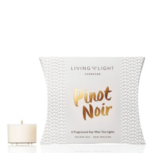 Living Light Dream Soy Tea Lights - Pinot Noir
