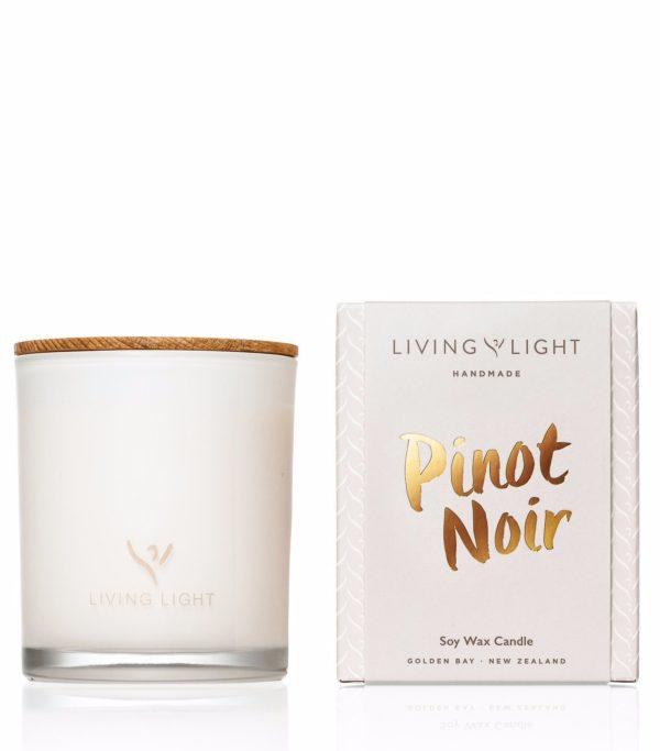 Living Light Dream Soy Jar Candle - Pinot Noir