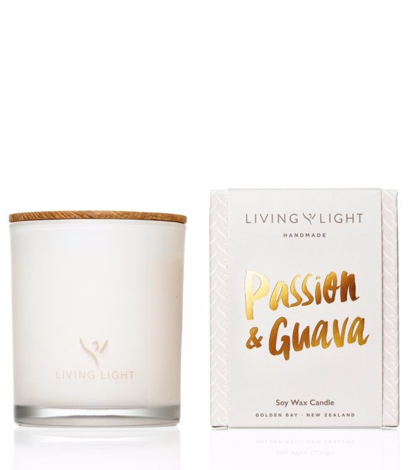 Living Light Dream Soy Jar Candle - Passion & Guava