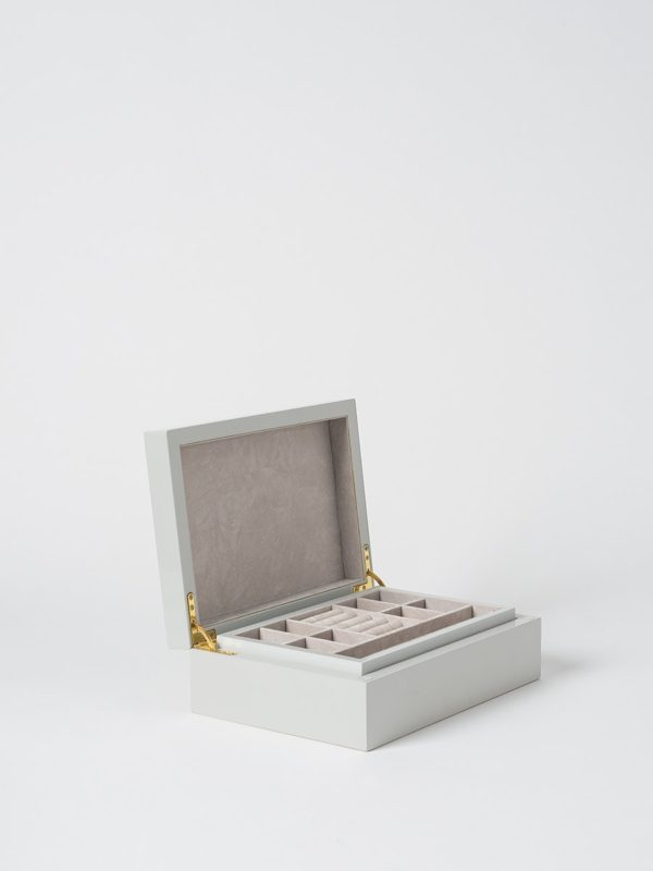 Small Jewellery Box In Clay by Citta