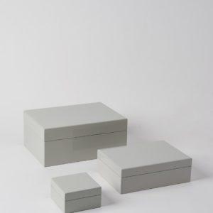 Citta Jewellery Box In Clay
