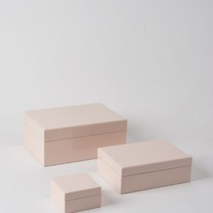 Citta Jewellery Box in Shell