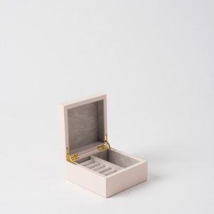 XS Jewellery Box In Shell Pink by Citta