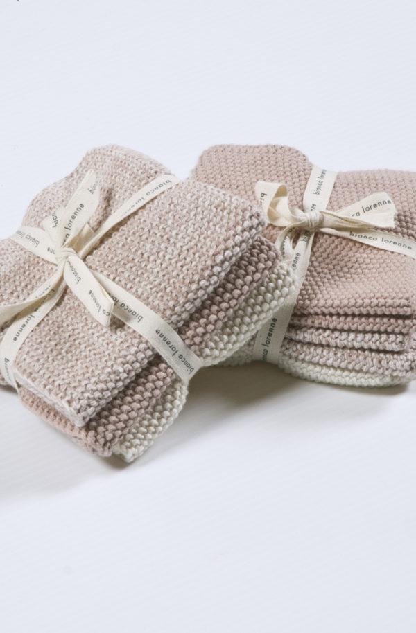 Bianca Lorenne Lavette Washcloths - Petal