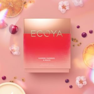 Ecoya Madison Candle - Summer Cherries & Peach