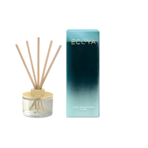 Ecoya Mini Diffuser - Clove, Spiced Ginger & Lime