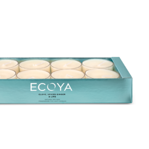 Ecoya Tealight Set - Clove, Spiced Ginger & Lime