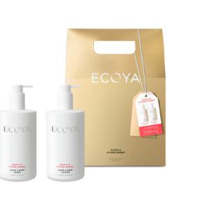 Ecoya Bodycare Set - Guava & Lychee Sorbet
