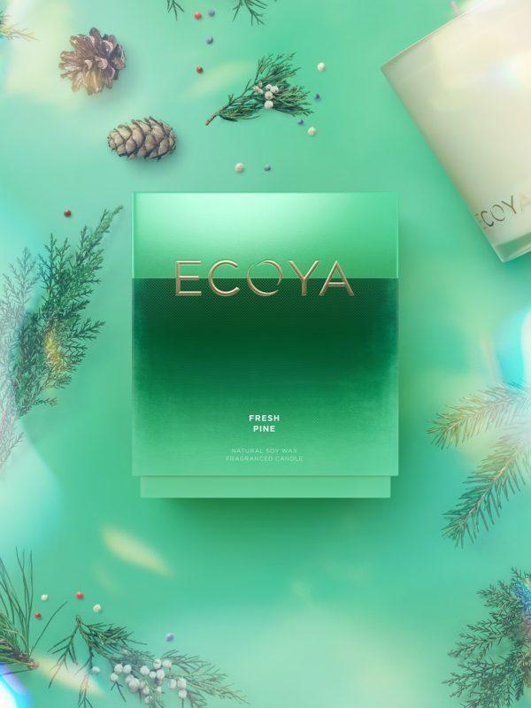 Ecoya Madison Candle - Fresh Pine