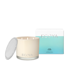 Ecoya Grand Madison Candle - Lotus Flower