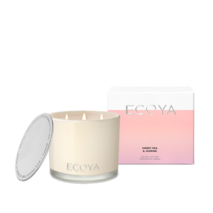 Ecoya Grand Madison Candle - Sweet Pea & Jasmine