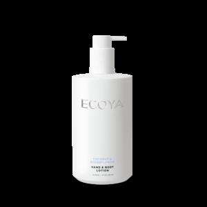 Ecoya Hand & Body Lotion - Coconut & Elderflower