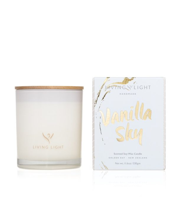Living Light Imagine Madison Candle - Vanilla Sky