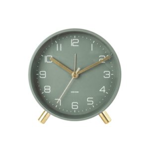 Karlsson Lofty Alarm Clock Green