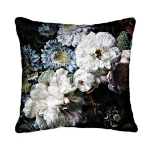 Blooming White Cushion