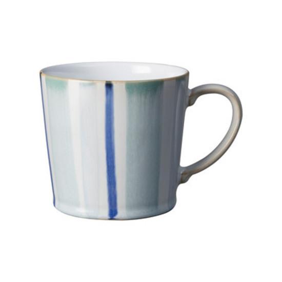 Denby Blue Stripe Mug