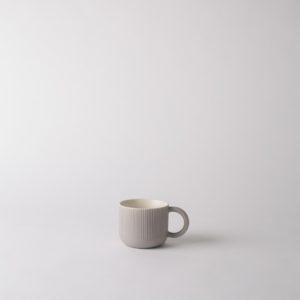Citta Cafe Mug in Grey