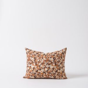 Citta Daisy Cushion in Chocolate