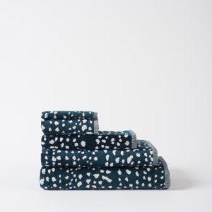 Citta Dot Velour Towel Range