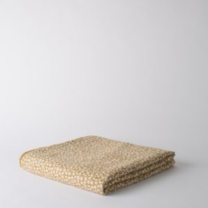 Citta Forget Me Not Organic Cotton Muslin Cot Blanket