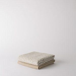 Citta Forget Me Not Organic Cotton Muslin Wrap Set/2