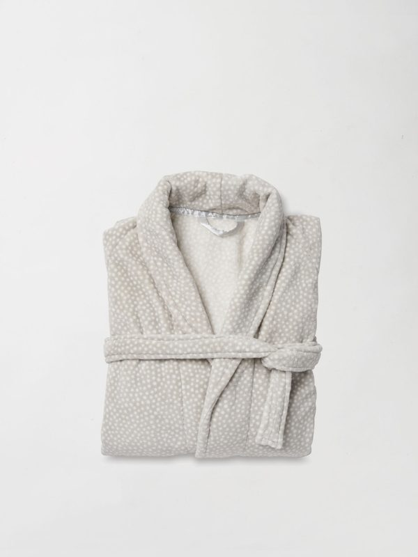 Halo Women's Nap Dressing Gown by Citta - Fog