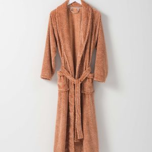 Halo Women's Nap Dressing Gown by Citta - Toffee
