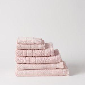 Citta Jacquard Towel Range - Dusk
